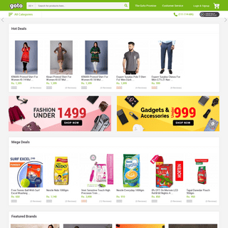 Online Shopping in Pakistan, Buy Now & Pay Cash on Delivery