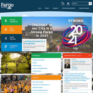 The City of Fargo - Home Page
