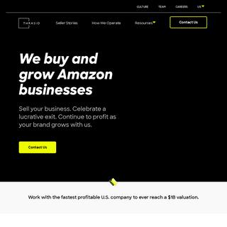 Sell Your Amazon FBA Business - Thrasio