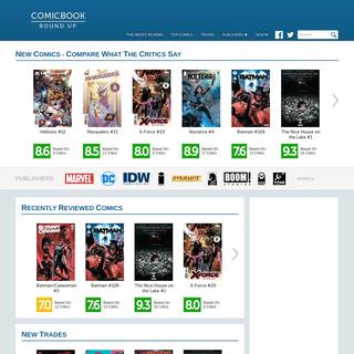 Comic Book Reviews at ComicBookRoundup.com