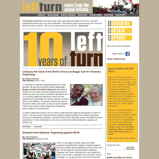Left Turn - Notes from the Global Intifada
