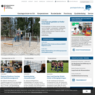 Ganztagsschulen- Startseite