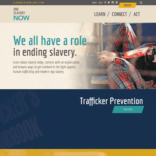 End Slavery Now - Resources to End Human Trafficking - End Slavery Now
