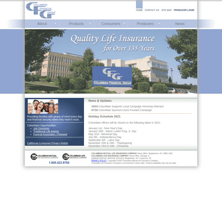 Home - Columbian Financial Group