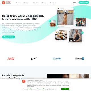 TINT User-Generated Content Platform