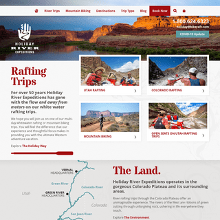 White Water River Rafting Trips- Utah (Moab), Colorado, Idaho