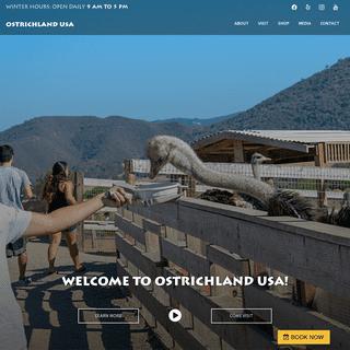 OstrichLand Usa - Buellton CA - Ostriches and emus park