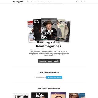 Discover magazines - Magpile