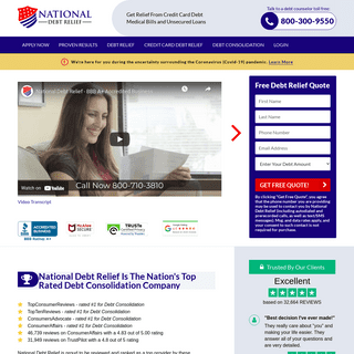 National Debt Relief - BBB A+ Accredited Business