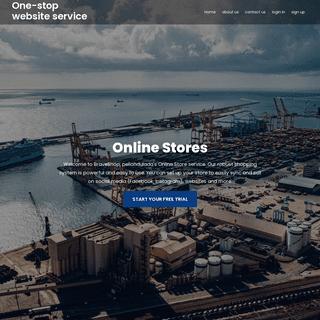 One-stop website service