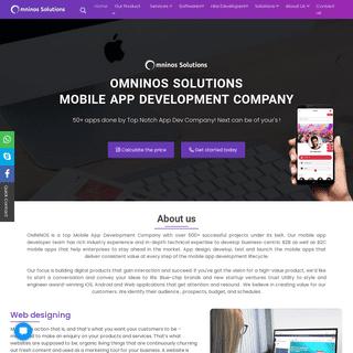 Omninos Solutions - Software, Web, Mobile App Development Company Chandigarh - Canada - Dubai - USA