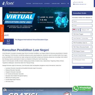 Konsultan Pendidikan Luar Negeri - ICAN Education Consultant