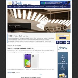 OLED Info - The OLED Experts