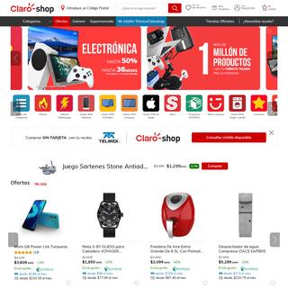 Claroshop.com - Compra en Línea con cargo a tu recibo telmex