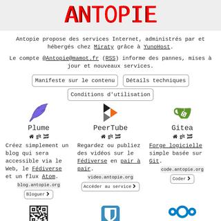 Antopie · Antopie
