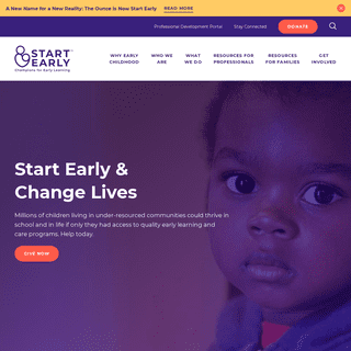 Start Early - Champions for Early Learning