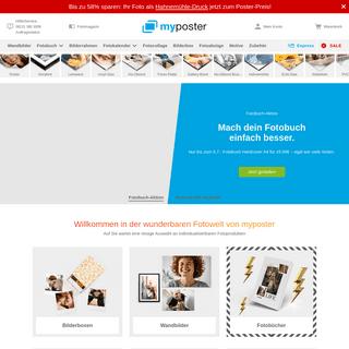 myposter - Ihre Fotos als Poster, Leinwand, Fotobuch & mehr!
