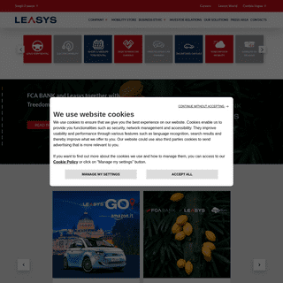 A complete backup of https://leasys.com