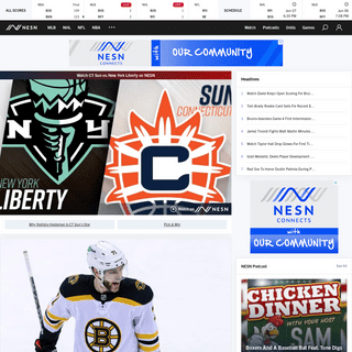 NESN - Red Sox, Bruins, Patriots, Celtics, CT Sun, Hockey East and more