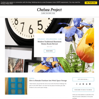 The Chelsea Project - DIY and Decor for Traditional Homes