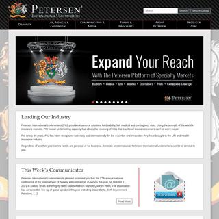 Petersen International Underwriters - Official Site