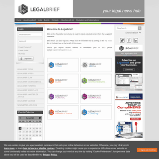 Legalbrief Today Home Page