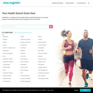 Home Page - HealthPrep.com
