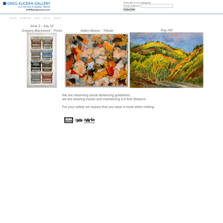 Greg Kucera Gallery - Seattle