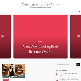Cara Bermain Live Casino - Cara Bermain Live Casino Online Indonesia