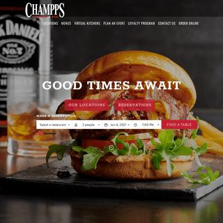 Sports Bar & Scratch Kitchen Restaurant - Champps
