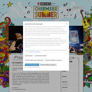 Der Chiemsee Summer - Das Festival in Übersee