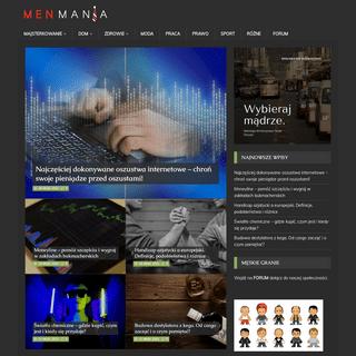 Blog motoryzacyjny - męski punkt widzenia - MENMANIA