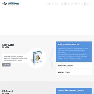 Korzh.com developer tools