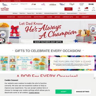 Popcorn - Popcorn Gifts - Popcorn Online - The Popcorn Factory