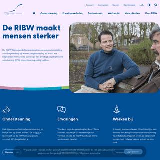 Welkom - RIBW Nijmegen & Rivierenland