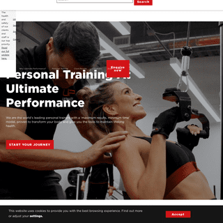 Ultimate Performance - World Leading Personal Trainers - UK