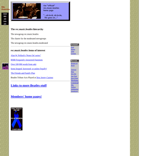 The rec.music.beatles Home Page