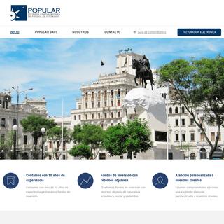 Popular SAFI – Sociedad administradora de fondos de inversión