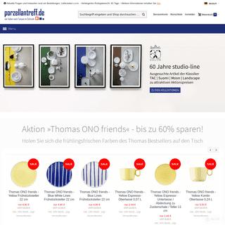 Porzellan, Geschirr, Gläser und Besteck günstig online kaufen