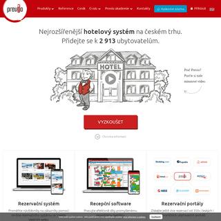 Previo - Online hotelový rezervační a recepční systém