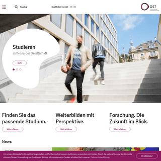 OST – Ostschweizer Fachhochschule - OST
