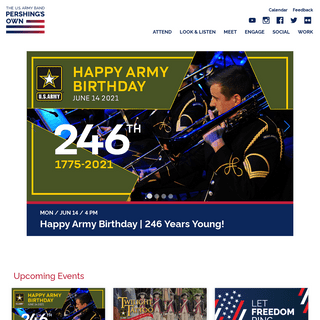 """The U.S. Army Band """"Pershing's Own-"""
