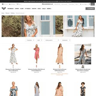 Womens Dresses & Rompers - Roxy