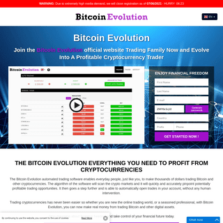 Bitcoin Evolution ™ - 🥇 The Official Site 2021 [UPDATED]