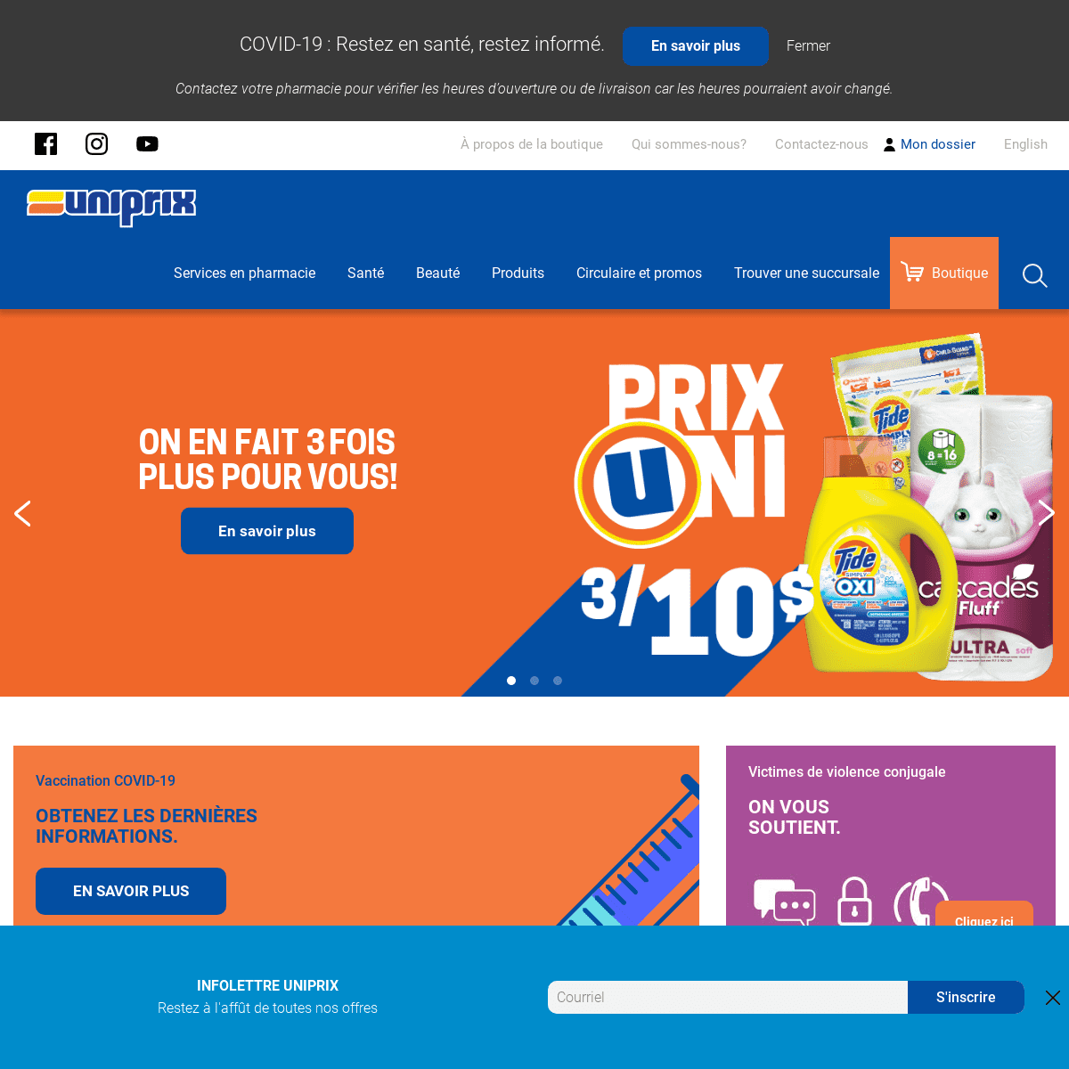 Uniprix Pharmacie - Uniprix