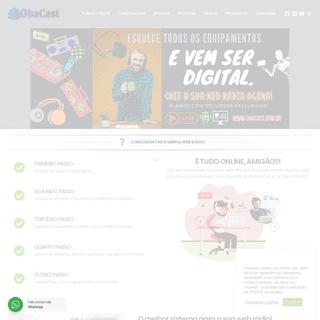 ObaCast - Crie a sua web rádio