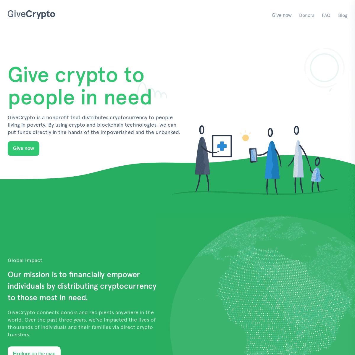Home - GiveCrypto.org