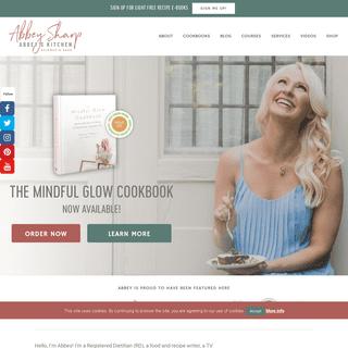 Toronto Media Dietitian, Food Blogger, TV Personality - Abbey Sharp - Abbey`s Kitchen
