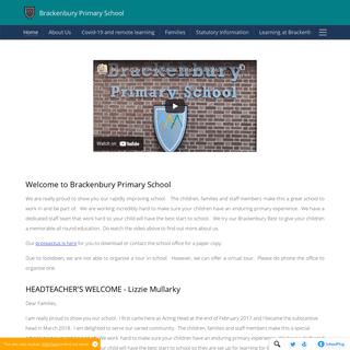 Brackenbury Primary School - Home