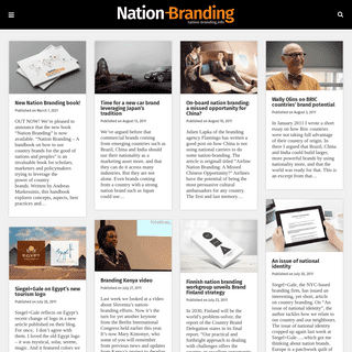 Nation Branding – Everything about Nation Branding and Country Brands